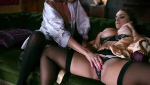 Beautiful sex with two elegant women
