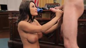 The famous blowjob to the president from Monica Lewinsky