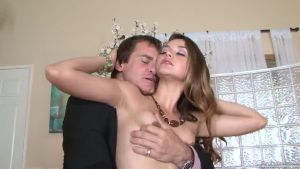 Nurse put up whore's dress to seduce owner's of  apartment husband