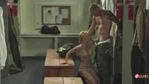 Sex in the locker room between the military