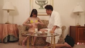Perverted stepfather gives his daughter adult toys