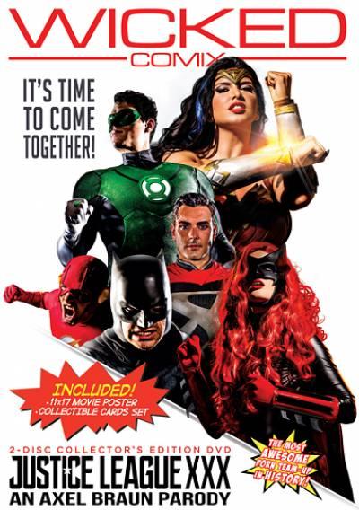 Justice League XXX sex Adult Movie Video